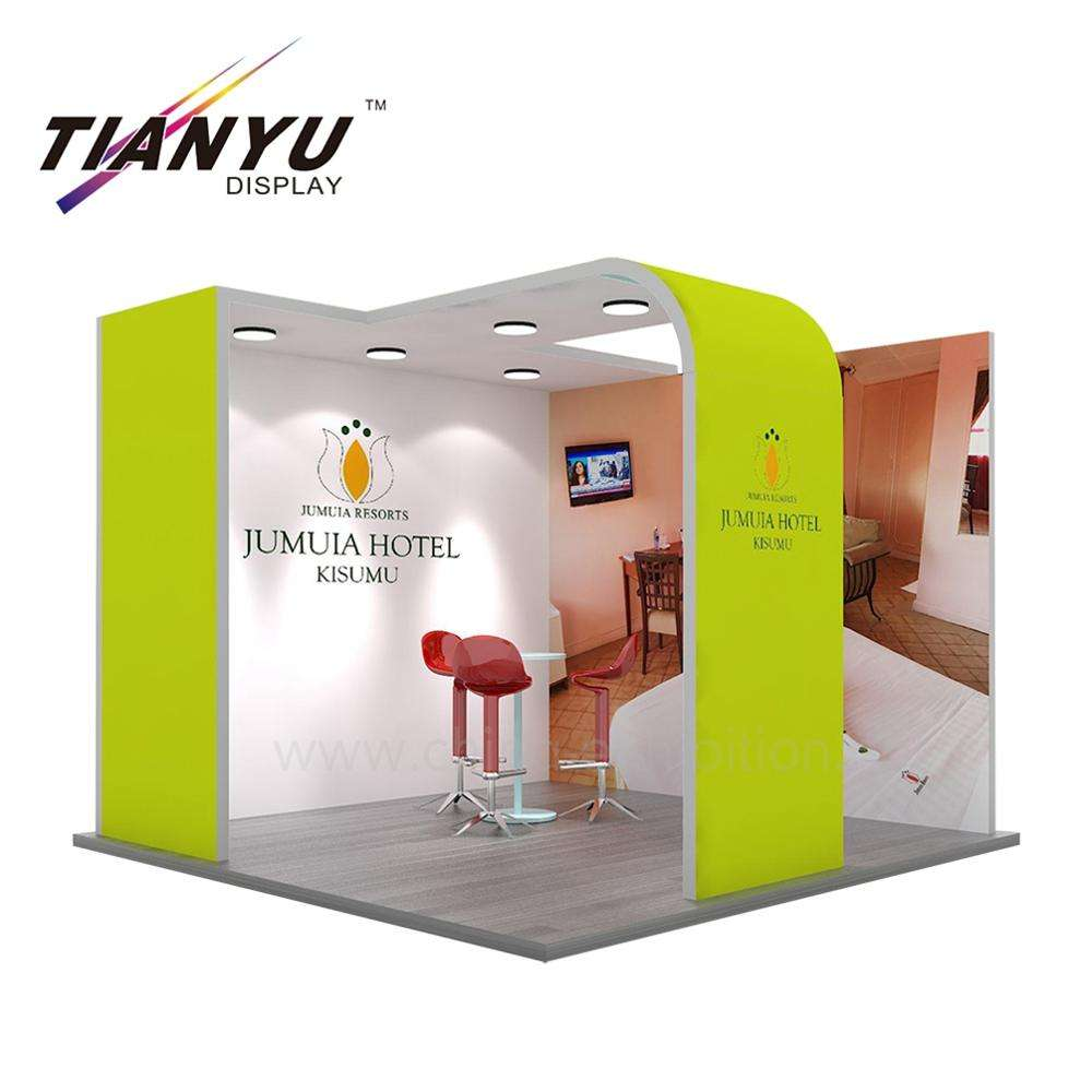 Aluminium Material Standard Panel Retail 3X3 Size Exhibition Booth