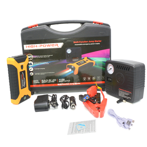 2019 New Arrival Portable 8000mah 12V Auto Car Jumper Booster Mini Jump Starter With Air Pump