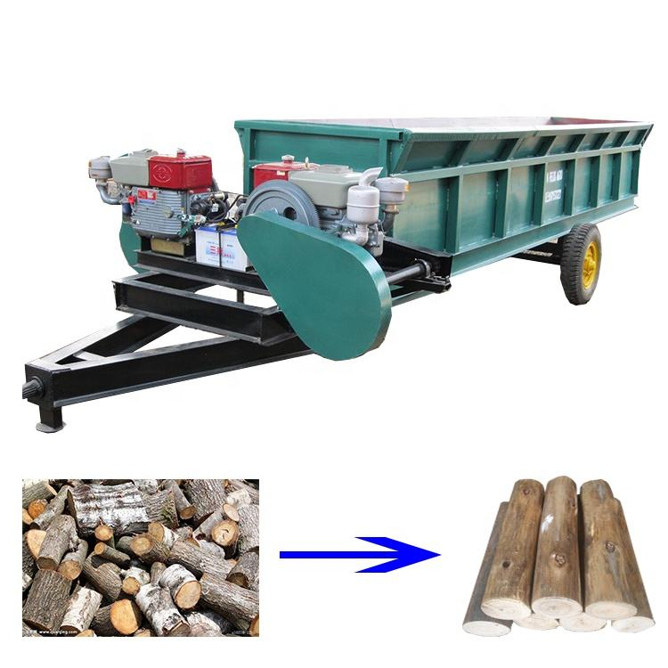 Low power consumption Wood debarking machine/ wood log peeler