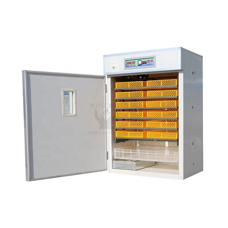China industrial hatching 1000 eggs incubators hatcher machine price poultry hatchery automatic chicken egg incubator for sale