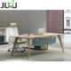 JUOU Furniture mdf office table office computer table design executive desk Modern L-Shaped Desk