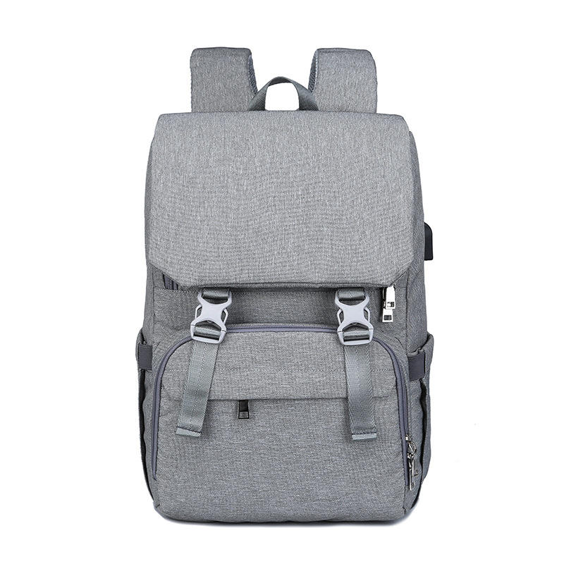 Outdoor Activity [ Bag Charing Changing Mat ] Large Capacity Multifunctional Travel Baby Bag Diaper Bag Backpack With USB Charing Port Changing Mat