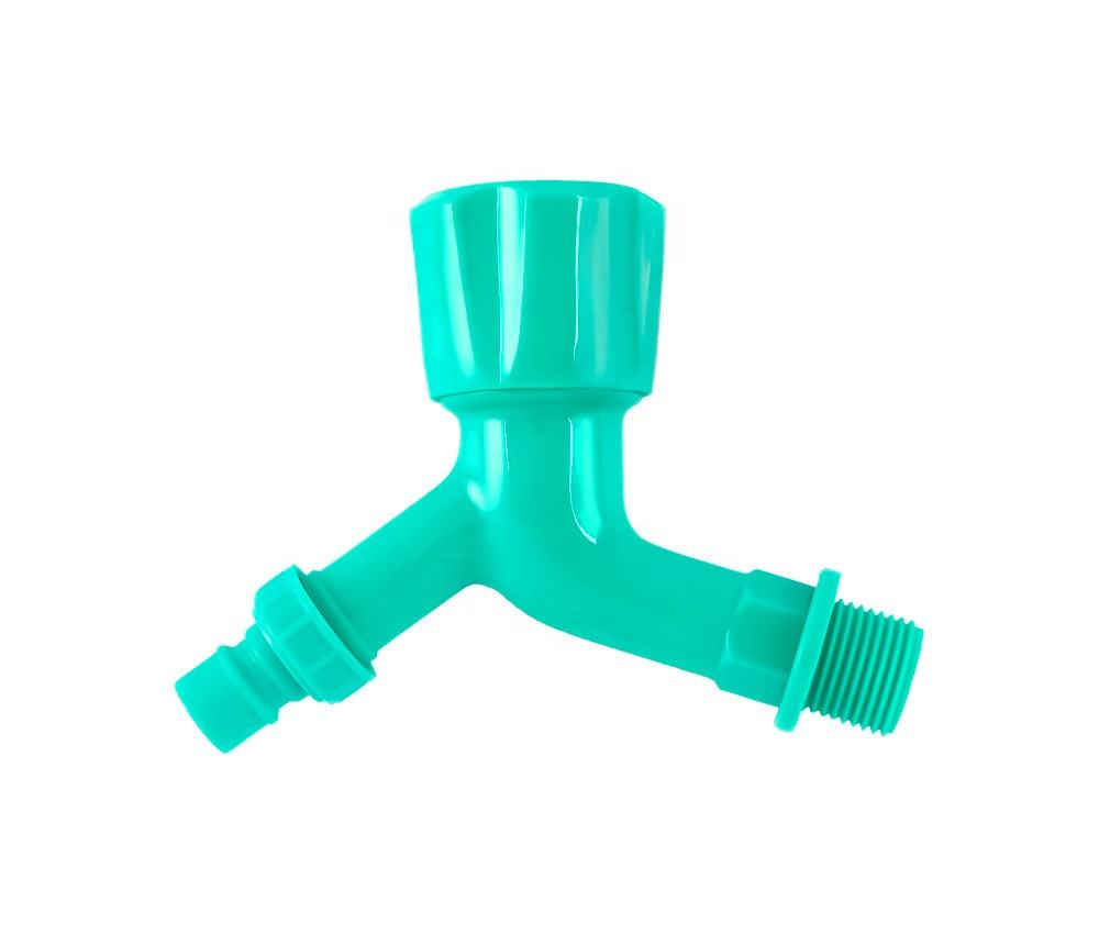 cheap Plastic PP water Tap with bibcock