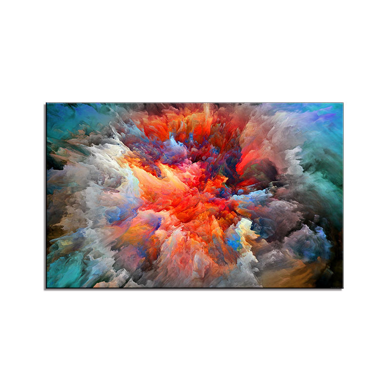 Wall Art Pictures For Living Room Home Decor Abstract Unreal Clouds Canvas Oil Painting Printed No Frame Poster and prints