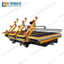 Multi function high configuration three arms integrated automatic glass loading cutting breaking machine for big glass