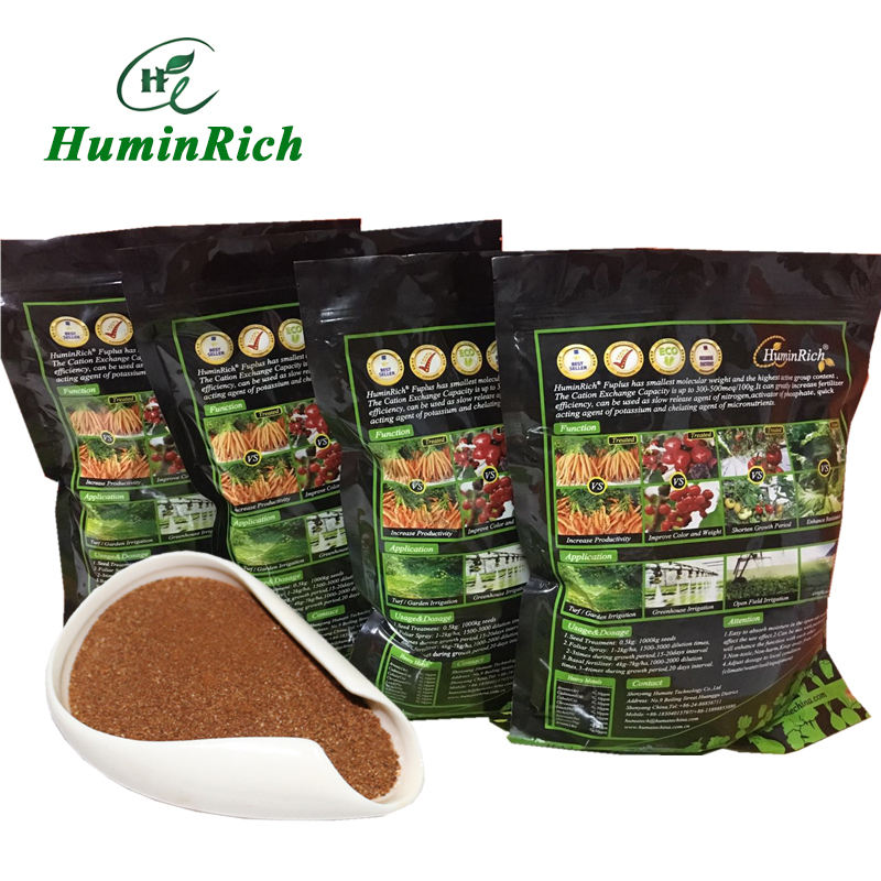 """HuminRich Fuplus"" Liquid Organic Foliar Fertilizer Humic Acid and Fulvic Acid NPK Fertilizer with Trace Elements"