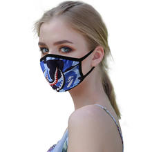 Reusable Colored Cotton Printing Washable Dust Proof Face Mask for Nose and Mouth