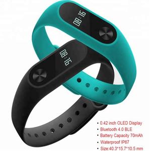 In Stock! New 2018 Original Xiaomi Mi Band 2 MiBand 2 Smart Heart Rate Smart Fitness Bracelet Tracker OLED Display Mi2