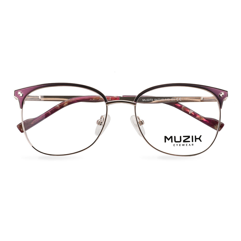 ML0270 Latest design double bridge optical frames