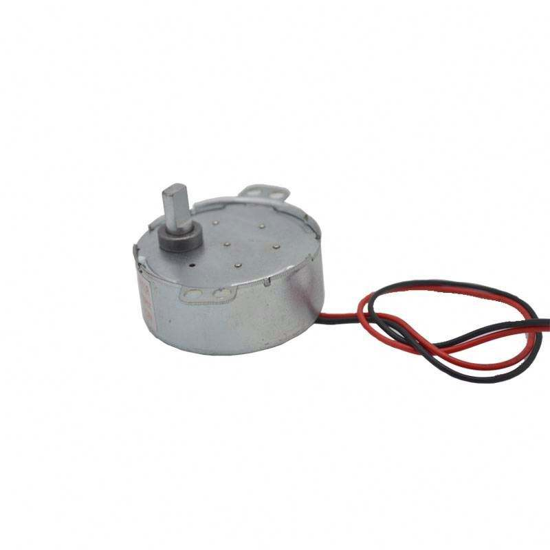Neue AC 220V-240V 50Hz CW/CCW Mikrowelle Drehscheibe Turn Table Synchron Motor TYJ50-8A7 D Welle 4 RPM