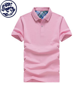 Zhongshan Dragon Uniform Custom 100% Katoen Heren Polo T-shirt Ontwerp