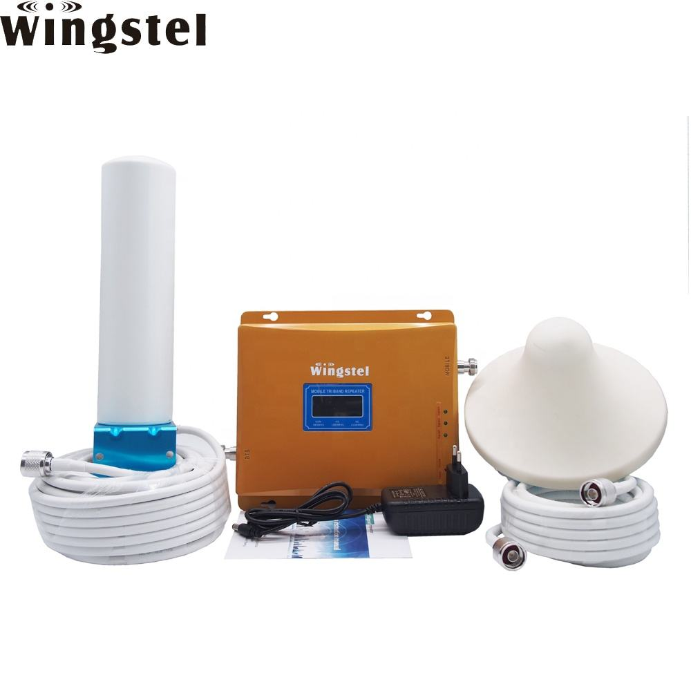 Top Selling Gsm Amplifier Cellular Signal Repeater 2g 3g 4g Mobile Network Signal Booster With Wholesale Price