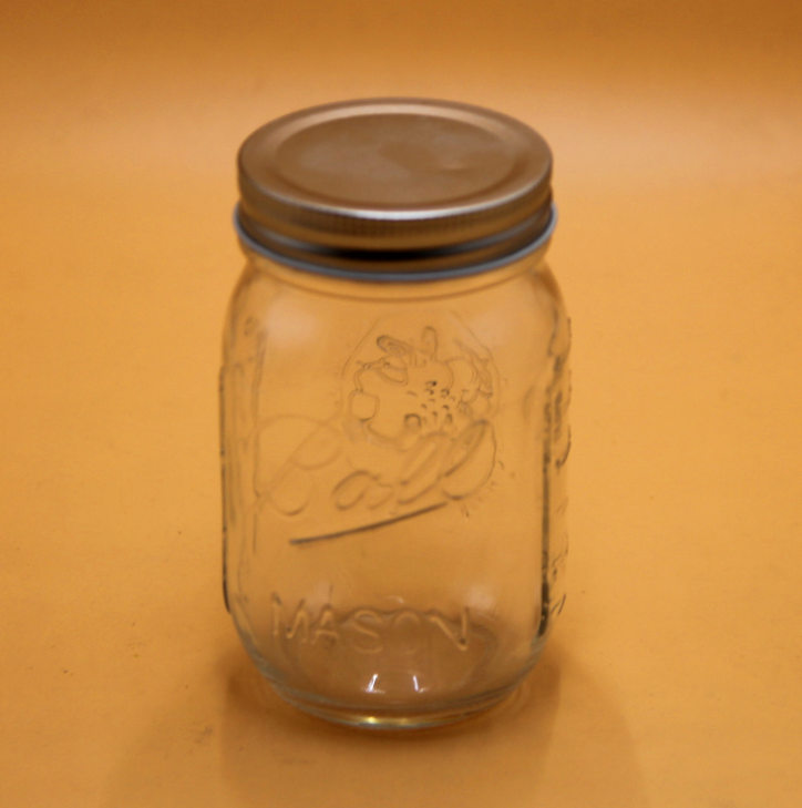 Wholesale Clear Glass 4oz 8oz 12oz 16oz 24oz 32oz 64oz Ball Mason Jars With Lids