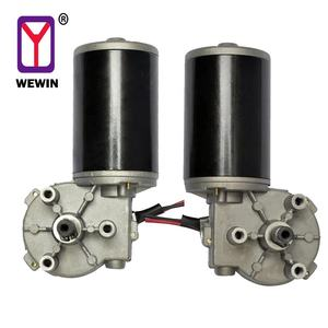 12V 24V DC Geared Motor with Encoder Small Electric Gearbox Motor for Automatic Doors