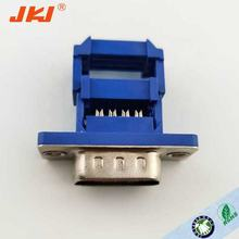 d-sub cable connector 9p 15p 25p 37 d sub male connector