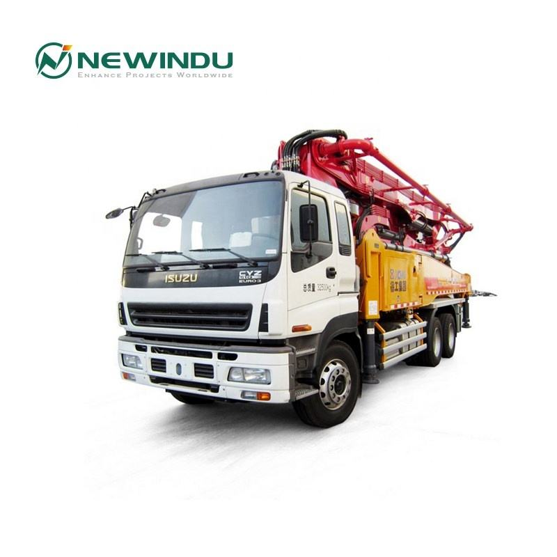 Newindu 43m HB43K New Diesel Truck Mounted Boom Concrete Pump Price for Sale