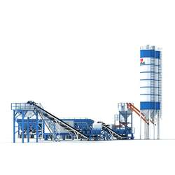 New Design Mobile Base Mixing Stabilized Sourse Batching Plant