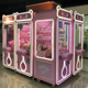 Transparent metal glass doll toy claw crane machine amusement center game machine gift game vending machine for sale