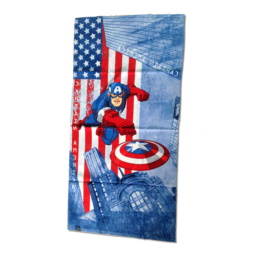 polyester custom sublimation printed children beach towel microfiber