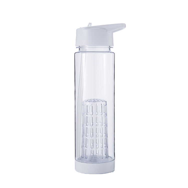 Everich&Tomic 2020 lovely stock UK TV show water bottle plastic shaker bottle fruit infuser white tritan water bottle