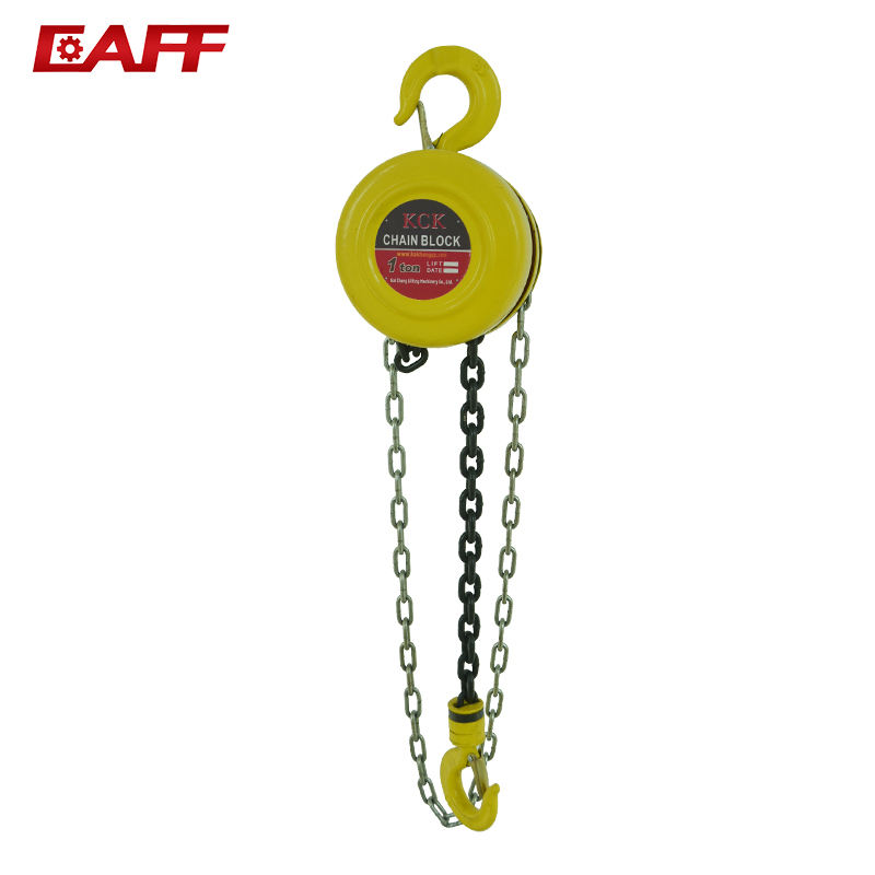high mechanical efficiency HSZ -A Series Chain Hoist,Building Hoist 1T-5T