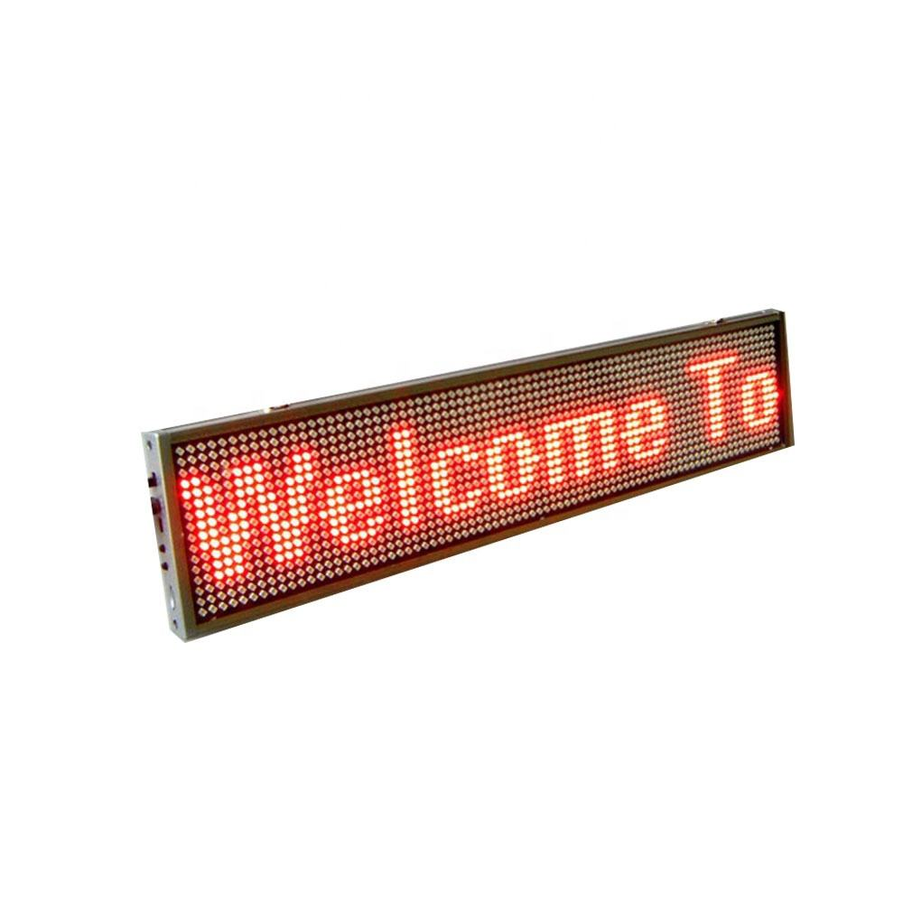 wifi programmable led message board moving signs for shops
