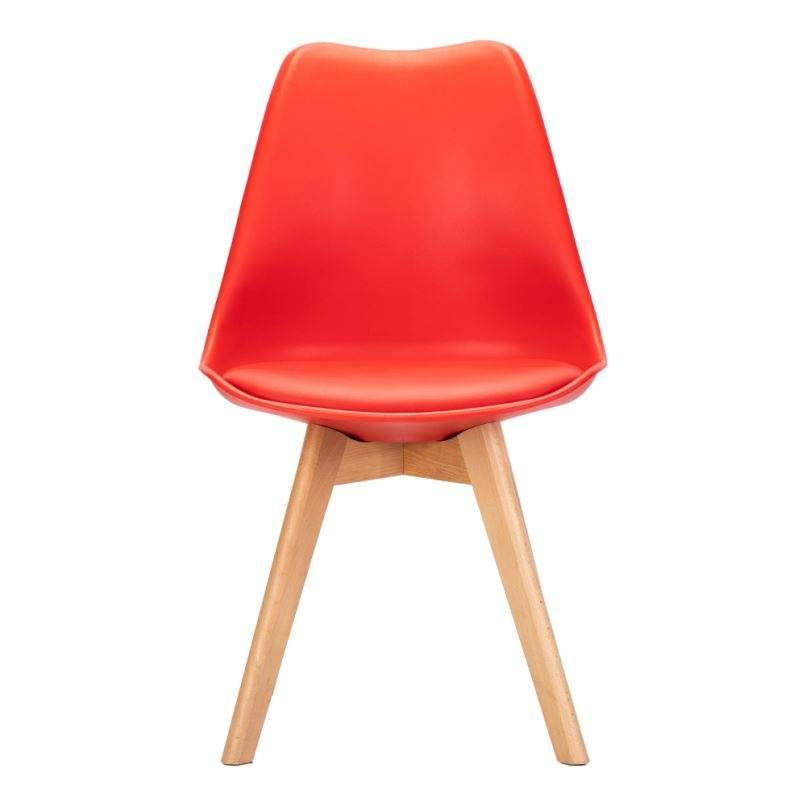 Chine Offre Spéciale salle à manger meubles en bois jambe rembourré chaise de salle à manger en plastique de haute <span class=keywords><strong>qualité</strong></span> design moderne dinant la chaise