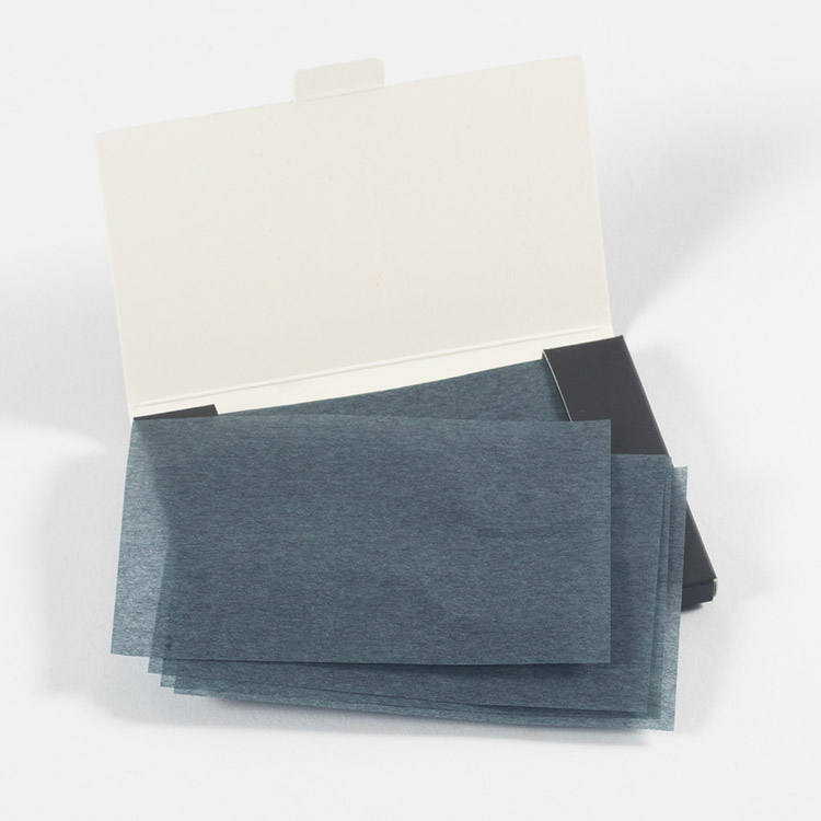 China factory customized OEM ODM face skin Bamboo Charcoal oil absorbing tissues sheets oil blotting paper