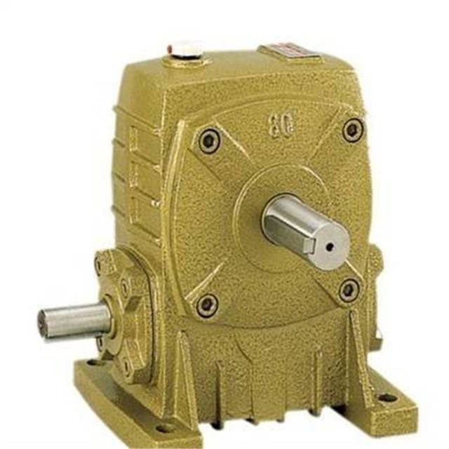 Manufacturers 1500 rpm WP type worm gear reducer WPO WPA speed reducer