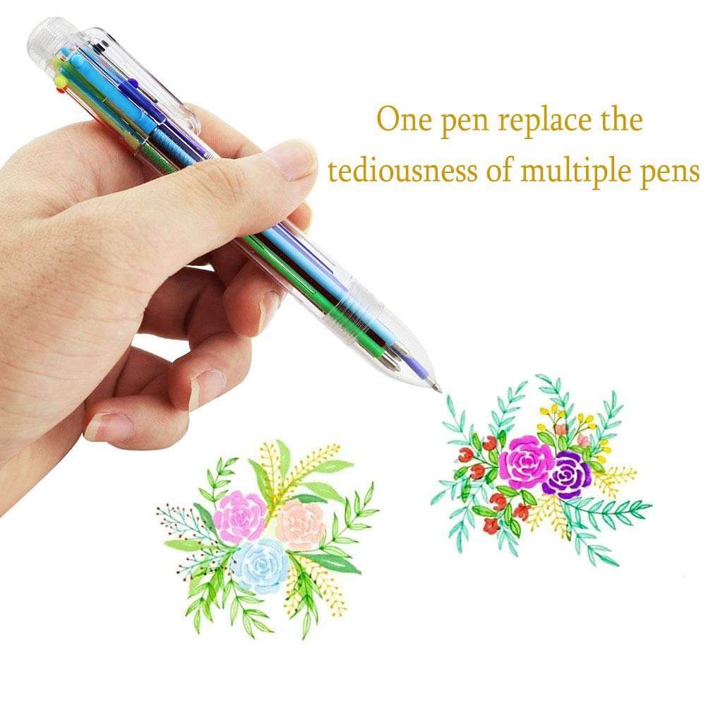 brightly colored retractable ballpoint pens,Gel Ink Ball Point Pens ,versatile pen for Office School