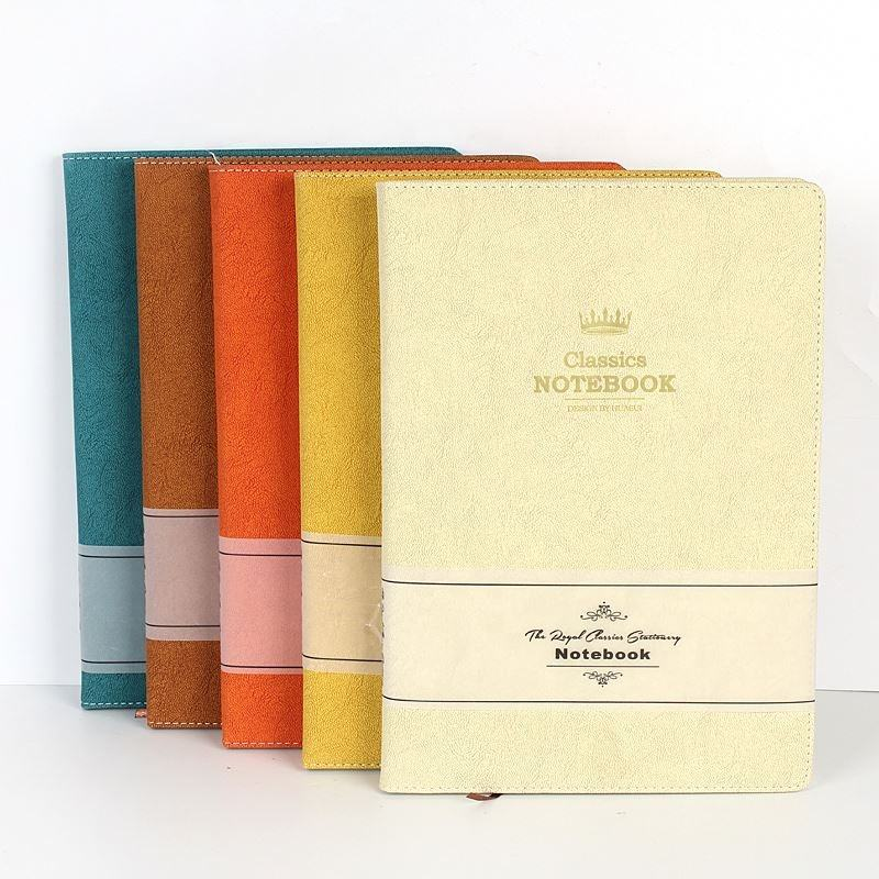Hard cover benutzerdefinierte fashion classic notebook mit personalisierte logo