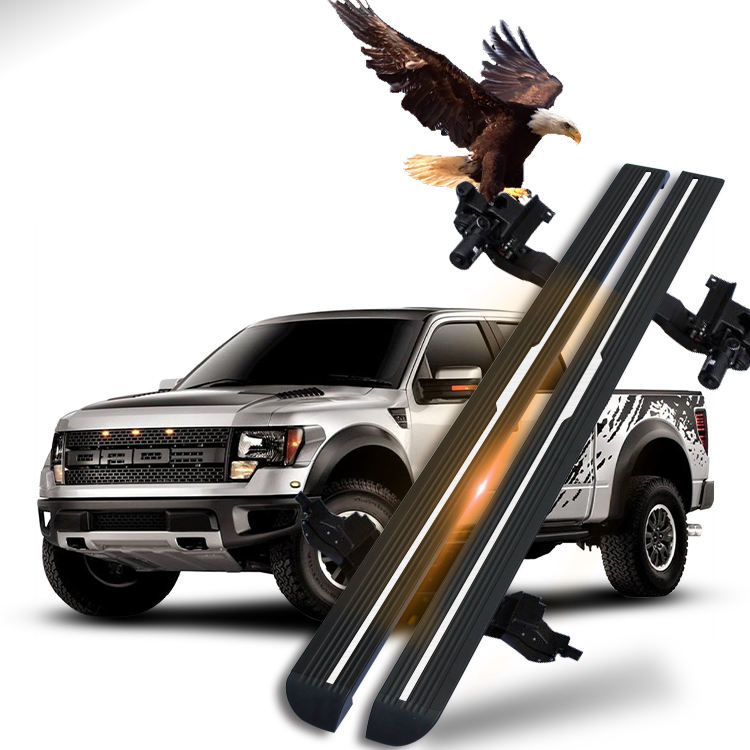 Waterproof F150 Pick Up 4x4 Automatic Powerstep Power Side Step Electric Running Boards for Ford F150 Raptor