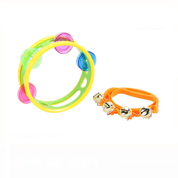 Good Quality Kids Musical Toys Plastic Tambourine