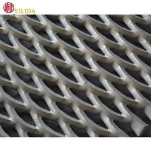 Expanded mesh wire mesh flat