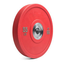 China wholesale cheap gym used barbell rubber cast iron competition bumper 50mm plate set