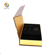 OEM Cheaper Luxury Pipe Clamshell Magnetic Collection Package Box with Foam