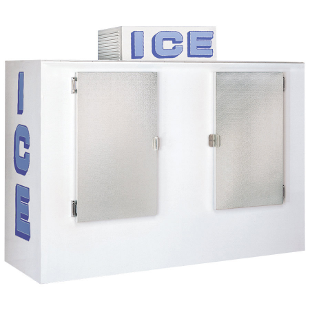 Keep Bags of Ice Frozen Ice Bag Freezer Merchandiser for Ice Storage