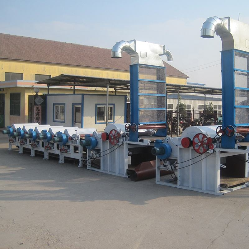 China Factory High Output Ce Non Woven Textile Waste Opening Recycling Machine for Tearing Yarn/Clothes /Cotton /Denim /Garment