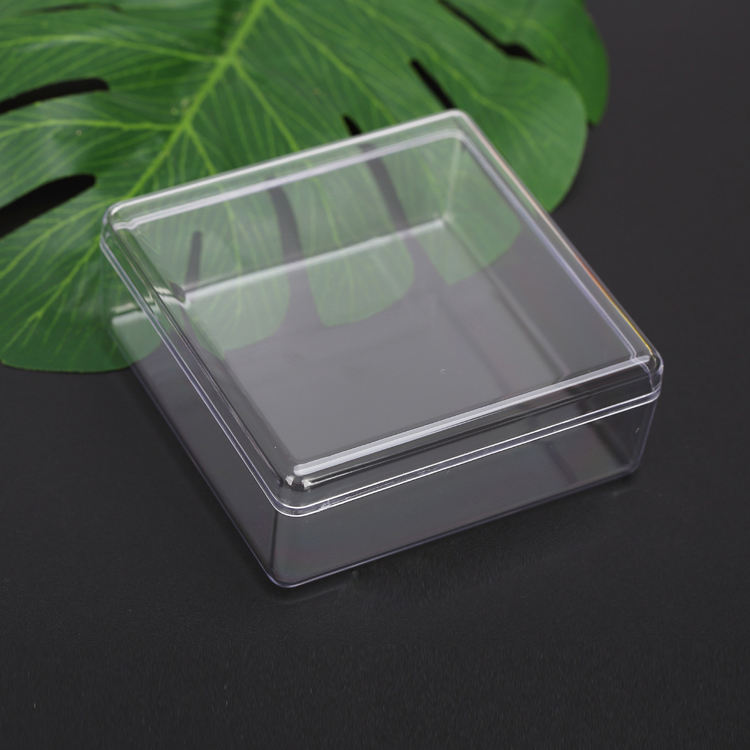Clear 플렉시 아크릴 rectangle storage box 와 lid