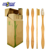 100% biodegradable Eco friendly Adult custom natural bamboo toothbrush