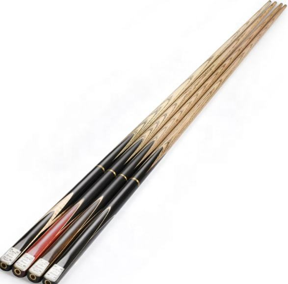 O'MIN มือปืน 3/4 Jointed Cue Snooker Cue