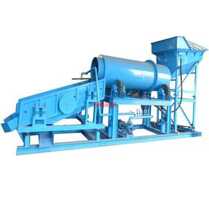 99% High recovery alluvial fine gold gravity process and washing plant