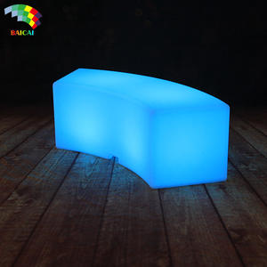 Outdoor LED Perabot Bar LED Patio Furniture LED Bench
