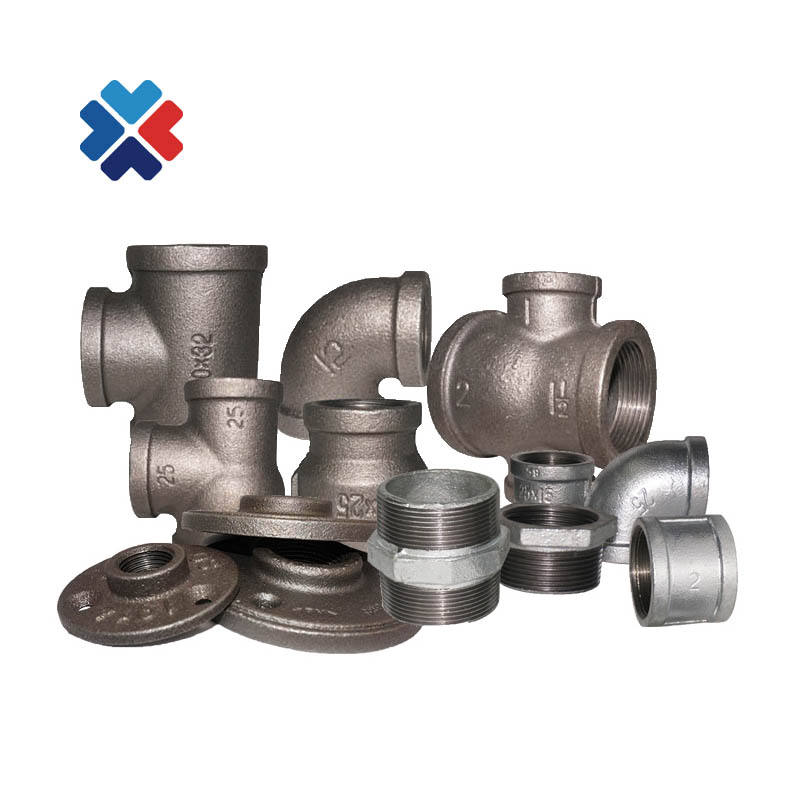 BS 10242 BSP Threaded Fitting Malleable Iron cast NPT Threaded Pipe Fittings