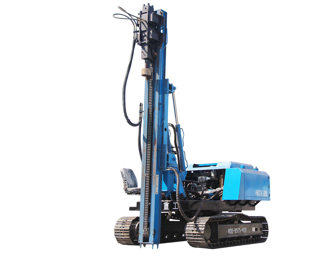 Sheet pile driver /hammer pile driver machine sales