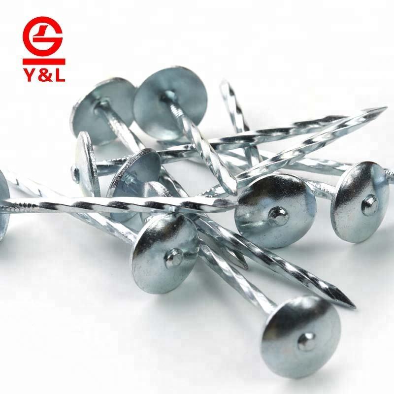 Großhandel spule aluminium spirale box dach nägel