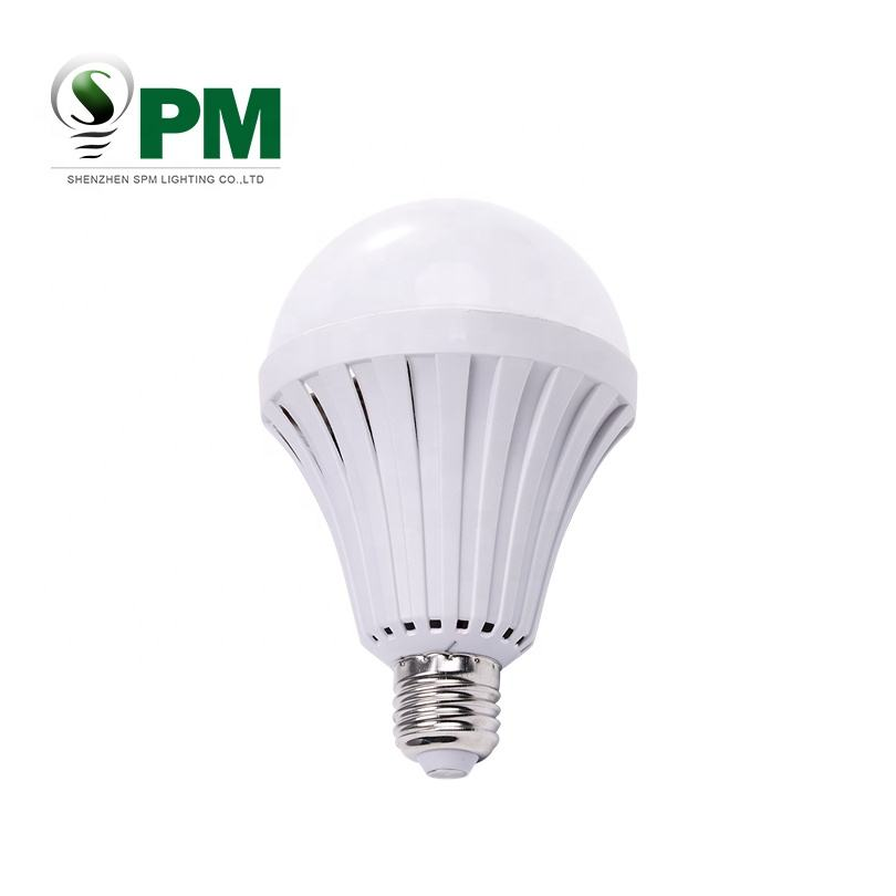 New design smart led light bulb intelligent led emergency bulb 5w rechargeable led bulb