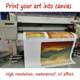 High quality custom art printing canvas print service wholesaler price
