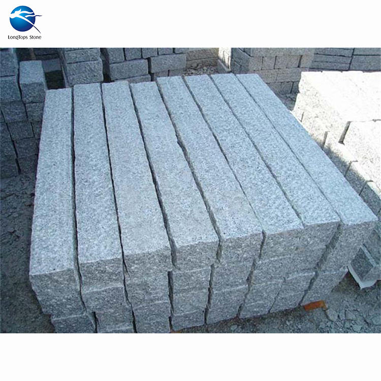 China landscaping G603 granite curbstone