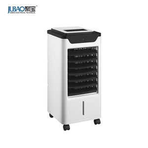 Plastic Evaporative Water Mist air cooling fan Electric Air Cooler Fan With CE